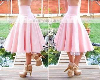 Long Latex Ballerina Skirt