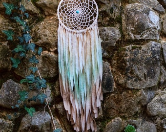 Dream catcher, Dreamcatcher, House decor, Nursery decor, Wedding decor, Bedroom decor, Mobile, Feathers, Beads, Bohemian, Boho, Wall hanging