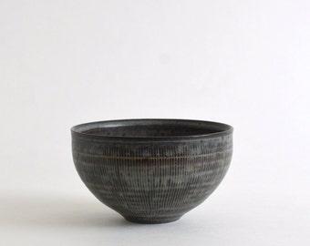 Senmon Cafe au lait Bowl S (Blue Black) / Koji Kitaoka (15005702-W-LBG)