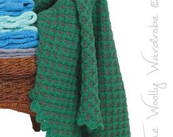 KNITTING PATTERN - Jemima Baby Blanket