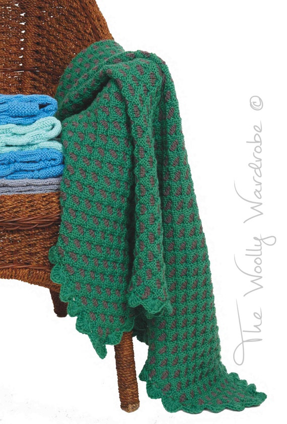 Knitting Inspirations Perth : Knitting pattern jemima baby blanket from