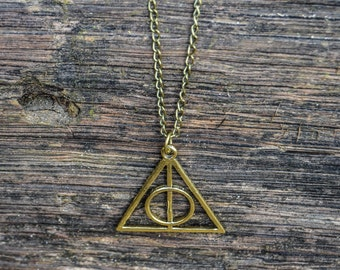 Deathly of Hallows necklace