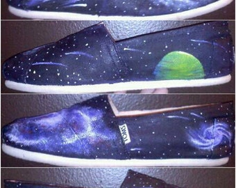 Custom Galaxy TOMS® Shoes