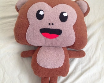 Monkey Pillow (Made to order)
