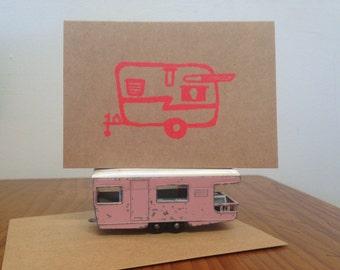 Shasta Caravan, Gift Card - Neon Orange