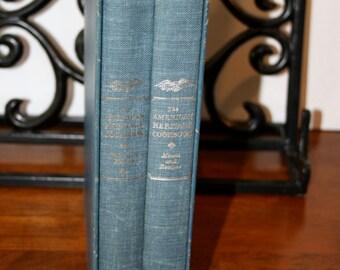 1964 The American Heritage Cookbook Volumn 1 & 2//Cookbook Set//Vintage Cookbook