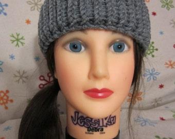 Gray Adult Winter Headband