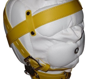 White mask, complete sensory deprivation