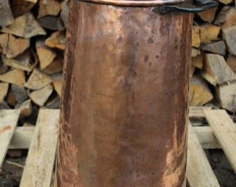 Handmade Copper Umbrella Stand rustic