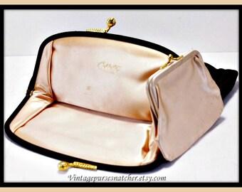 Vintage Coblentz Evening Clutch,Vintage Evening Clutch,Vintage Satin Evening Clutch,Vintage Evening Bag,Vintage Coblentz Evening Bag,Purse