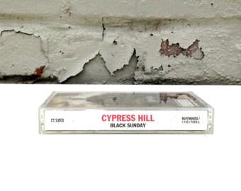 Cypress Hill - Black Sunday- Cassette Tape 1993 Insane in the Brain