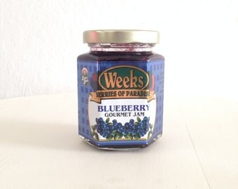Blueberry Gourmet Jam 8 oz - Utah's Own