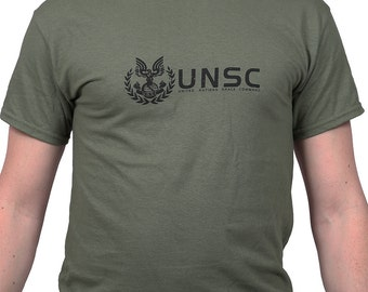 UNSC Halo Spartan Master Chief Gaming T-Shirt