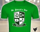 St. Patrick's Day Drunk in Dubuque, Limited Edition, Green T-Shirt