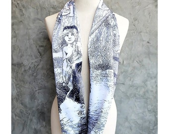 Les Miserables Novel Book Scarf