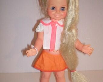 """Velvet Vintage Doll By Ideal 16"""""""