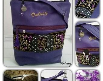 Form satchel handbag