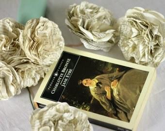 CUSTOM MADE Jane Eyre Flower Bouquet Using A Second Hand Novel
