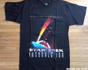 Star Trek TNG Vintage Insurrection Shirt LARGE Original