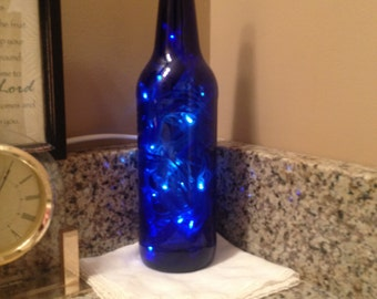 LED Lighted Wine Bottle