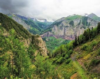 San Juan Mountain Valley