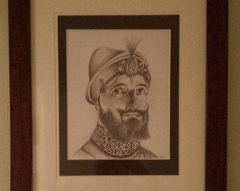 Guru Gobind Singh Ji sketch