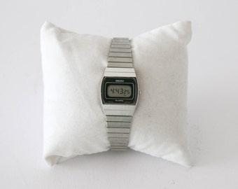 Seiko Vintage Ladies Lcd Watch - Water Resistent - Alarm
