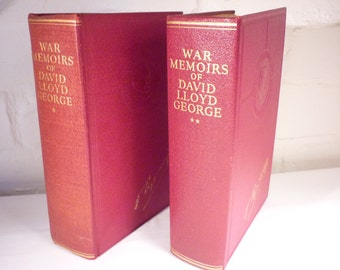 War Memoirs of David Lloyd George - Volumes 1 and 2