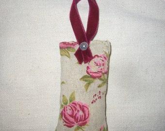 Small Lavender filled hanging bag decoration