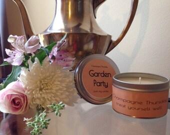 Garden Party Soy Candle, 8oz.