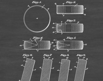Hockey Puck Patent 1940 - Patent Print, Wall Decor, Hockey Art, Hockey Patent,  Hockey Coach, Coach Gift, Hockey Gift, Sports Art