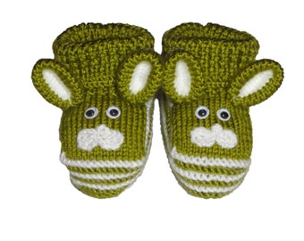 Baby socks, Baby boots, crochet baby shoes