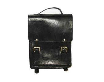 Black Metropolitan Backpack (Medium: New Edition)