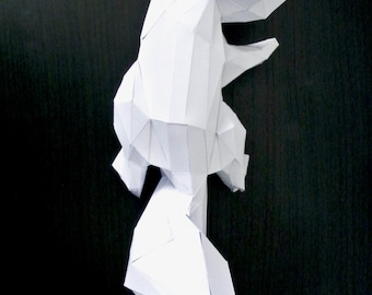 Squirrel paper to mount