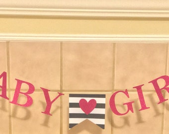 Baby Girl Baby Shower / Sip and See Banner