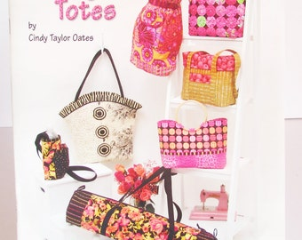 Purses Bags and Totes Pattern Book UNCUT Cindy Taylor Oates Taylor Made Designs