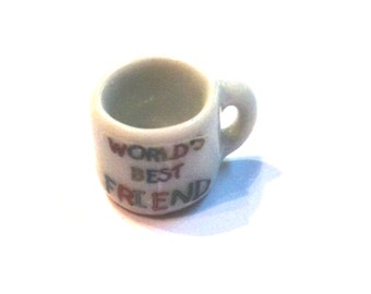 "Miniature ""World's Best Friend"" Coffee Cup"