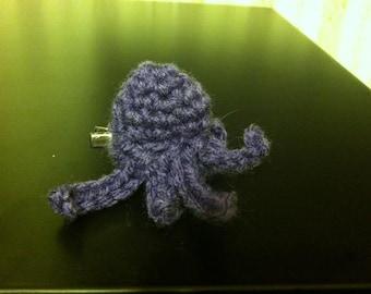 Happy Octopus Hair Clip