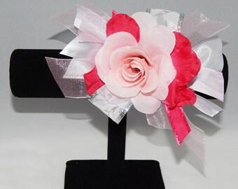 Pink Flower Corsage