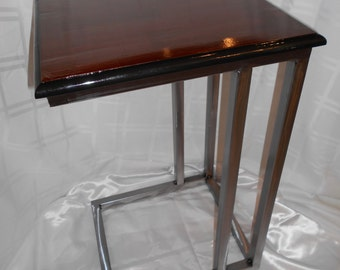industrial table, metal welded table,sofa slide table, snack table, laptop table