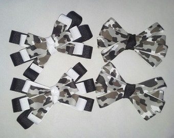 White and Black Bows