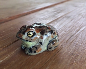 Western Toad (Anaxyrous boreas) Pocket Totem