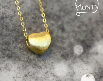 Little Life - Silver Necklace (24K Gold Plated)