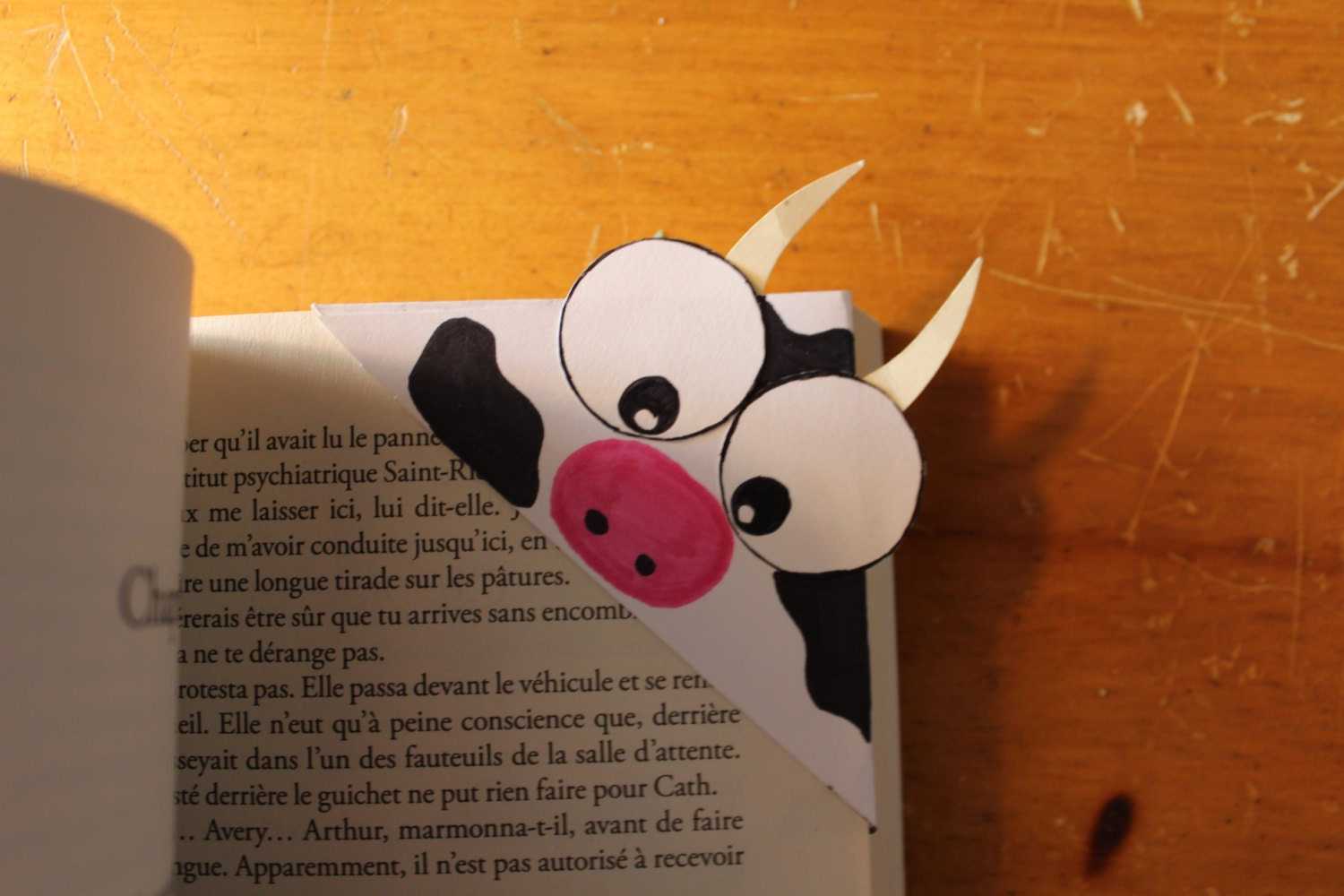 cow corner bookmarks cow corner bookmark 1367