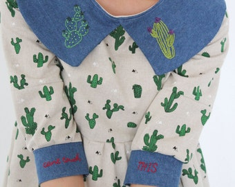 Cant Touch This Cactus Dress