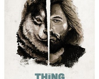 The Thing - Alternative Movie Poster Art, Film Print, Film Poster - Kurt Russell