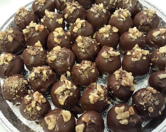 Cake Balls with Nuts of your choice
