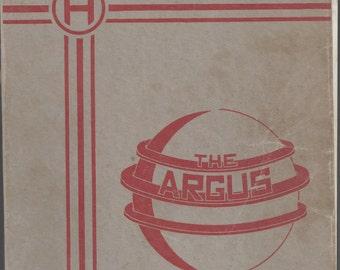1937 Huntingdon High School Yearbook: The Argus - PA