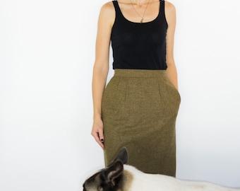 Vintage Lord & Taylor Wool Skirt