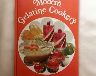 Modern Gelatine Cookery. Vintage Cookery Book 1970/1971